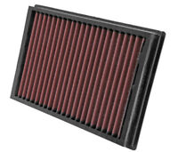 33-2877 K&N Replacement Air Filter FORD FOCUS C-MAX 1.6 & 1.8 OE SIZE 281M X 190