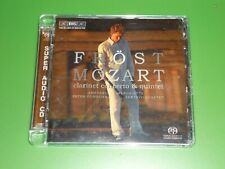 CD  SACD MARTIN FROST  MOZART  CLARINET CONCERTO&QUINTET       ETAT NEUF