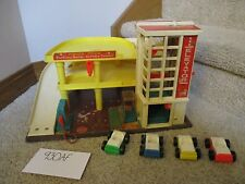 Fisher Price Little People Play Family Action Garage Station 930 AF toy Parking