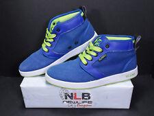 Vlado Footwear IG-1064-4-9 Spectro 4 DEEP Royal Blue/Electric Green, Men Sz 8.5