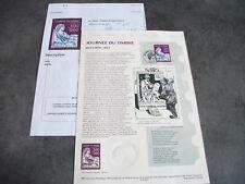 """DOCUMENT PHILATELIQUE 1ER JOUR""""JOURNEE DU TIMBRE-MOUCHON 1902""""  1997"""