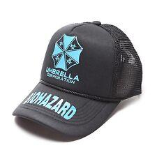 Resident Evil Umbrella Corporation Hip-hop Baseball Cap Hat Blue Luminous