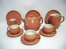 Langley Pottery (DENBY) Casino Ware, Part Tea Set 1950s (12 pieces)