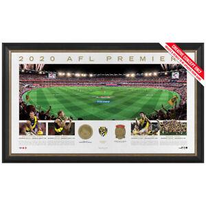 Richmond 2020 AFL Premiers Official Panoramic GABBA Print Framed DUSTIN MARTIN