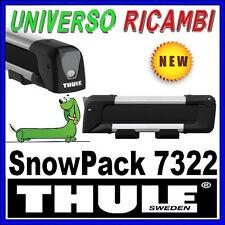 THULE 7326 snowpack skihalter portascì Snowboard Supporto Travi SNOWBOARD