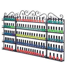 5 Tier Metal Nail Polish Display Rack Organizer Wall Holder Over 200 Bottles