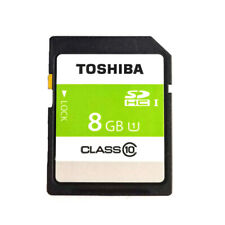 Toshiba 8GB C10 SDHC I SD Memory Card 30MB/s SD-K08G for Digital Camera DSLR