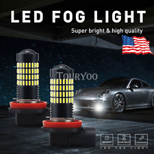 LED Fog Light Bulbs H16 for 2014-2017 Toyota Corolla 4Runner Yaris Tundra RAV4