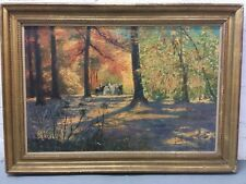 Peter Darro American (1917-1997) Oil on Canvas Framed Signed & Dated 71
