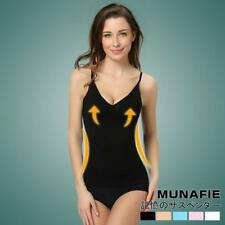 Munafie Women Cami Body Shaper Genie Bra ShapeWear Tank Top Slimming Body AU