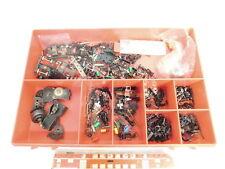AO243-3# H0/DC Ersatzteile-Box; Kleinteile, Motor-Teile, Großteil Fleischmann