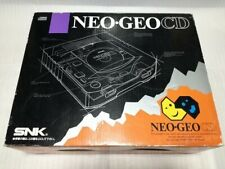 SNK Neo Geo CD System NeoGeo Console Top Loading Model Tested Work from JP FS