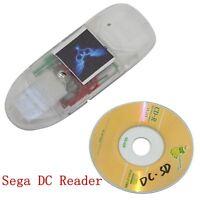 Sega DC SD Card Reader Adapter Converter Boot CD for Sega Dreamcast Game Reader