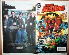 Young Justice 10 COVER PROOF ART Robin 1999 DC Comics Superboy Wonder Girl RARE!