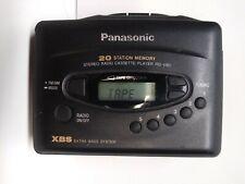 Panasonic Rq-V80 Portable Digital Radio Cassette Player Xbs & Clip Works