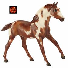 BREYER HORSE TOY MODEL 1775 - 1:9 SCALE VAN GOGH PINTO MUSTANG FOAL - NEW IN BOX