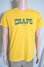 Vtg '80s Chaps by Taylor Togs soft gold Cal Cru t shirt M