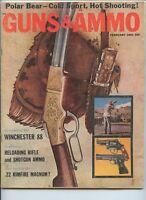 Guns & Ammo February 1961 Polar Bear-Cold Sport, Hot Shooting!