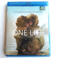 BBC EARTH ONE LIFE NARRATED BY DANIEL CRAIG BLU-RAY BRAND NEW FAST FREE SHIPPING
