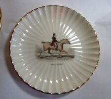 "Miniature vintage 4 1/4"" Lenox horse plates in very good condition"