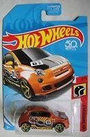 2018 Hot Wheels Fiat 500 #2/5 [Orange] HW Daredevils 50 Anniversiary