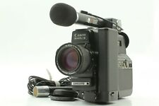 【NEAR MINT】 Canon 514 XL-S Canosound Super 8 Movie Camera + BM50 DM30 From JAPAN