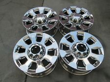 """20"""" FORD F250 F350 KING RANCH FACTORY OEM WHEELS RIMS CHROME PLATED PVD SET 4"""