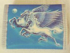 Nylon Sports Wallet with Coin Pocket - Fantasy Unicorn Pegasus