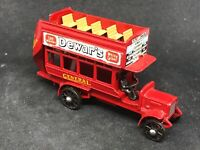 *HTF Matchbox Yesteryear Y2 Issue 19 *Black Wheels 1911 'B' Type London Bus