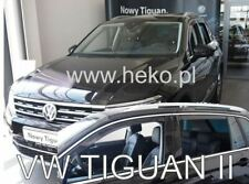 4 Deflettori Aria Antiturbo VW TIGUAN II 2016 in poi 5 porte