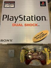 🔥 Sony Playstation 1 PS1 Console System SCPH-7501 In Original Box Memory Card🔥