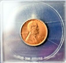 1947-D LINCOLN WHEAT CENT PENNY~1C~ MS66RD~BEAUTIFUL COIN~GREAT COLLECTOR ITEM~