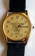 Vintage Bulova Men's Quartz Watch: Transport Workers Union Local #504 Dial