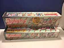 1991 Donruss (2) Collectors Set of Baseball Puzzles & Cards Factory Sealed, MINT
