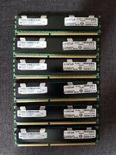 Crucial 8GB, 240-pin DIMM, DDR3 PC3-10600R Memory ModulesCT102472BB1339 ECC