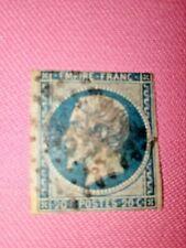 STAMPS - TIMBRE - POSTZEGELS - Republique Française 1853   NR. 13 II a  (F 83)