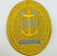US Navy Command United States Military Badge Patch (Gold)