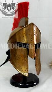 300 Spartan Helmet King Leonidas Movie Replica Helmet Medieval Gift 18 g by vim