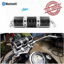 Motorcycle USB Bluetooth FM Speakers MP3 Audio Radio Stereo Sound Waterproof