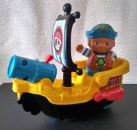 VTech 178803 Toot Friends Kingdom Captain Bob and His Raft TESTED