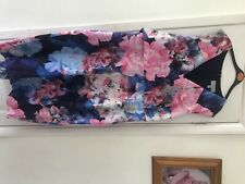 coast dress size 18 flower design shift dress brand new with tags