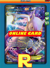 FA Mewtwo EX - Promo XY125 for Pokemon TCG Online ( DIGITAL  ptcgo in Game Card)
