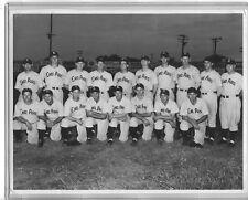 1945 Enid Airs (Oklahoma)  Air Force Baseball Team  Original Photograph