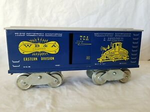 1967 McCOY STANDARD GAUGE TCA BOXCAR EASTERN DIV. WASH. BALTIMORE & ANNAPOLIS