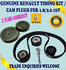 FITS LAGUNA I ESPACE III 1.8/2.0 TIMING BELT TENSIONER IDLER KIT & CORE PLUGS
