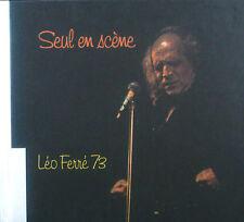 2erCD LEO FERRE - seul it scena, Leo Ferre 73, Barclay