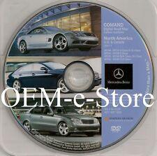 2005 2006 2007 2008 Mercedes SLK-Class 280 350 55 AMG Navigation OEM DVD Map