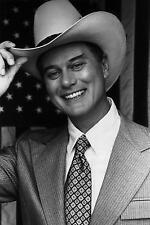 DALLAS TV SERIES Larry Hagman J. R. Ewing cowboy hat PICTURE 8x10 PHOTO