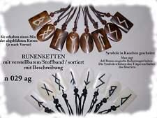 24x Halskette Runen Bone Großhandel Schmuck / n 029 w