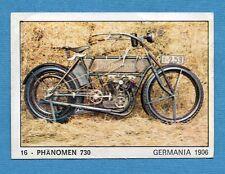 MOTO 2000 - Panini 1972 -Figurina-Sticker n. 16 - PHANOMEN 730 -Rec